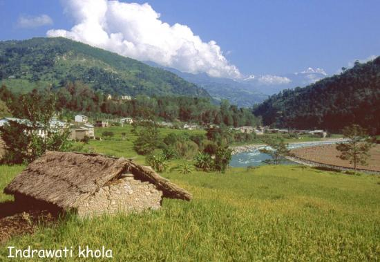 La vallée de l'Indrawati khola
