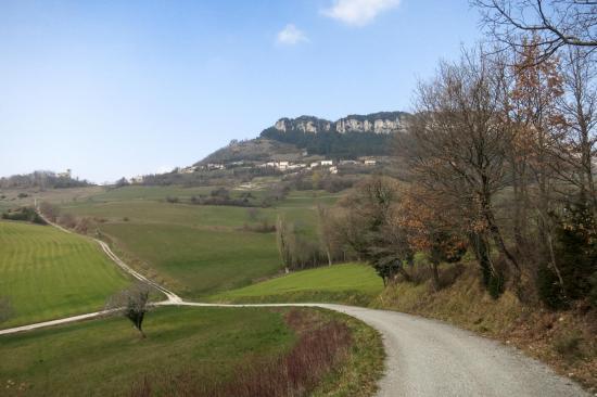 Au pied du village de Gigors