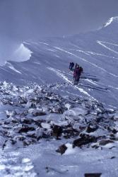 Arête terminale du Mont Pourri