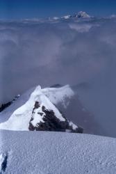 Au sommet du Mont Pourri (Mont-Blanc)