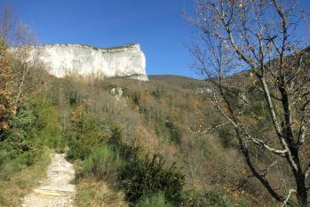 Descente à la cascade (falaise d'Ansage)