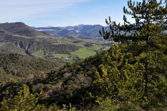 Panorama depuis le Serre des Aigles