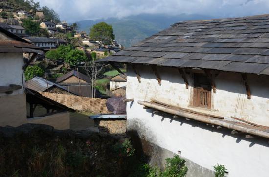 Tanting, village gurung du piémont