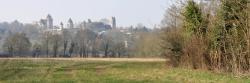 Les tours du château de Blandy