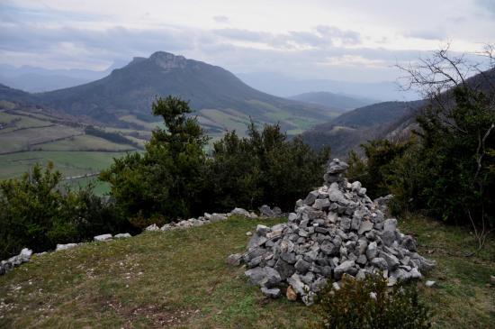Descente de la ferme de la Boussière aux Arthauds
