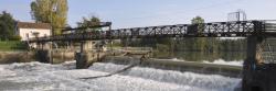 Le barrage de Noisiel