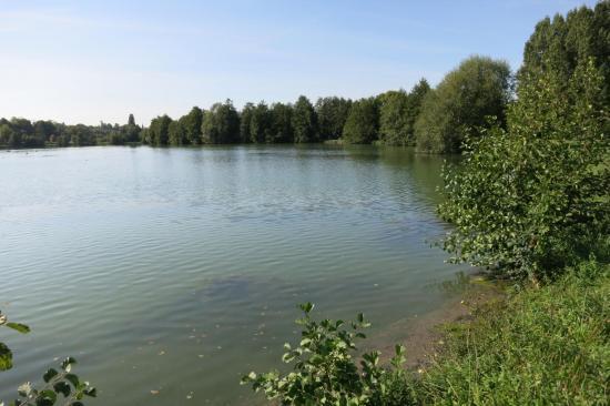 Saint-Rémy-la-Vanne (le plan d'eau)