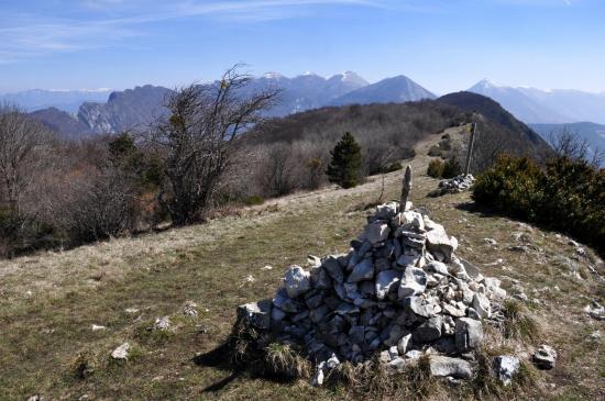 Au sommet du Grand Pomerolle