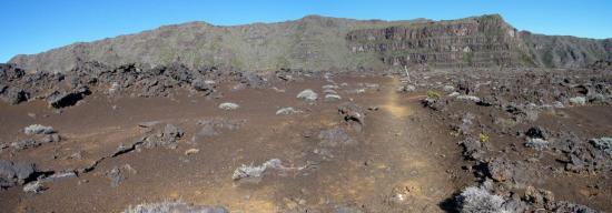 Sur l'île de la Réunion, la Plaine des Sables