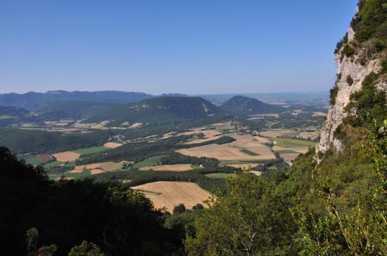 Dans la montée à Roche-Colombe
