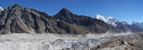 Le long du Ngozampa glacier
