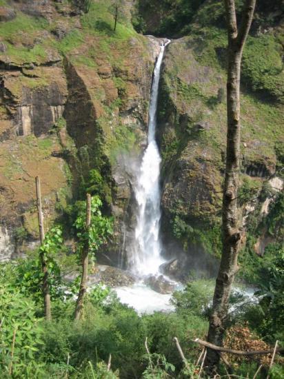 Les cascades à Jagat