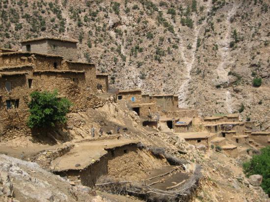 Le village d'Assats