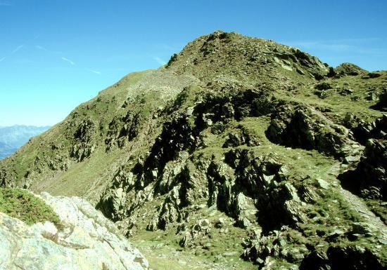 Le Mont Mirantin vu depuis le Pas de l'Ane