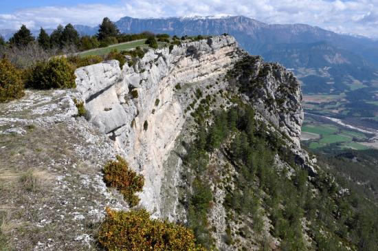 A l'approche du sommet de Serre Chauviere
