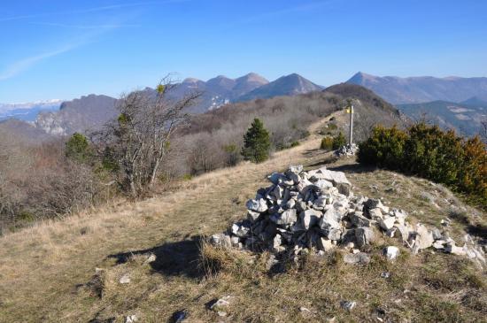 Au sommet du Grand Pomerolle (Trois-Becs, Roche-Rousse, Grand-Delmas et Couspeau)