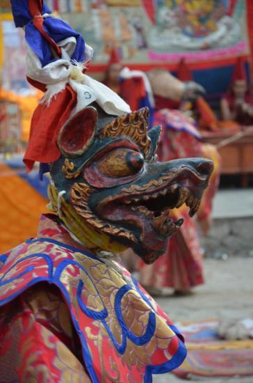 Danse des masques (Tiji 2e jour)