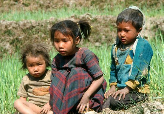 Enfants à Muna