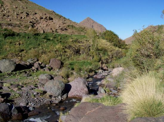 Vallée de Tachedirt, l'asif Imenane