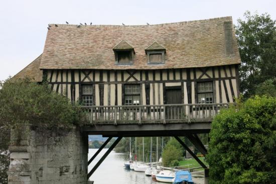 Vernon, l'ancien pont