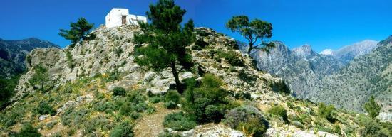 La chapelle de Profitis Ilias
