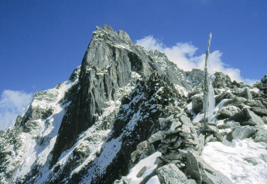Le passage du col du Ganja La (5102m)