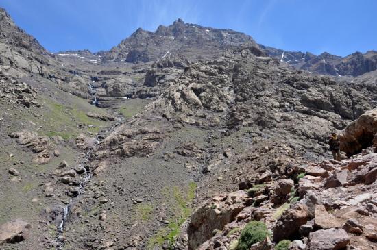 Descente du vallon de l'Ait Mizane (Imouzzer)