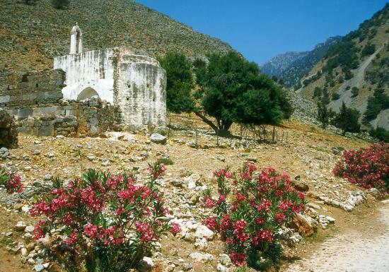 Entrée des gorges de Samaria (Agia Roumeli)