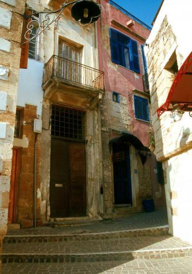 Vieilles ruelles à Hania