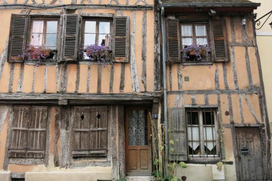 Vieilles maisons à Vernon