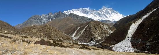 Le Lhotse vu depuis la yersa d'Orsho