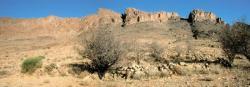 Les falaises du Djbel Aklim vues depuis Tagragra