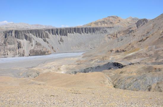 La vallée de la Dechyang khola