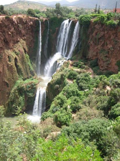 Les cascades d'Ozoud