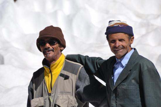 M'hamed et Hussein au tizi n'Ouagane