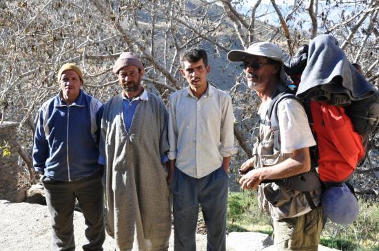 La sympathique équipe des azibs Agharas