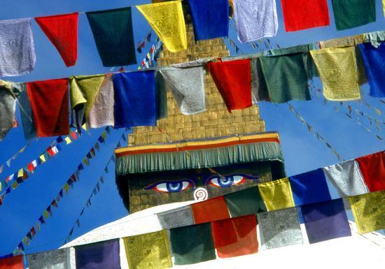 Le stupa de Bodnath (vallée de Kathmandu)