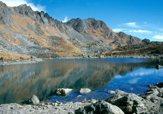 Le lac de Jaisuli kund