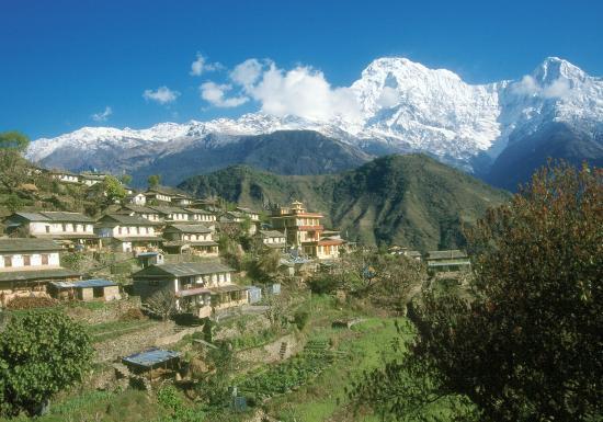 Ghandruk : Annapurna Sud et Hiunchuli