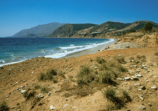 La plage à proximité de Festos