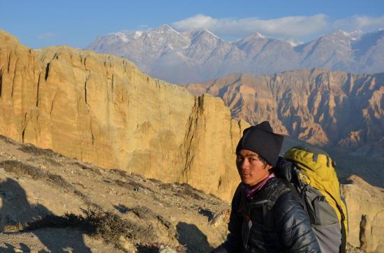 Le guide de haute-montagne Shandra Raï