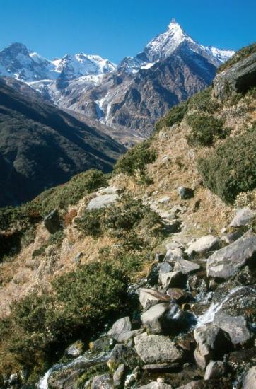 La face NE du Paldor depuis Sangjung kharka