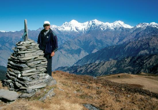 Nima Dhundup Sherpa au Sing La bhanjyang
