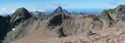 Sur les crêtes du Monte Cinto
