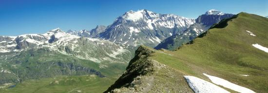 La Grande Casse et la Grande Motte (col de Lanserlia)