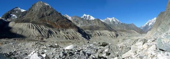 Le Trakarding Glacier