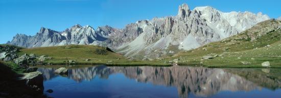 Le lac Long et la Main de Crépin (Haute vallée de la Clarée)