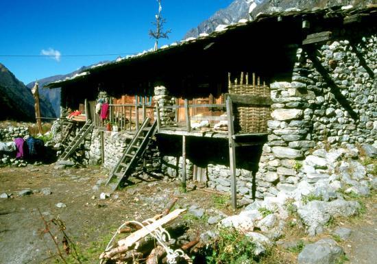 Le village de Langtang
