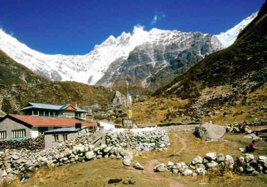 Le village de Kyangin gompa