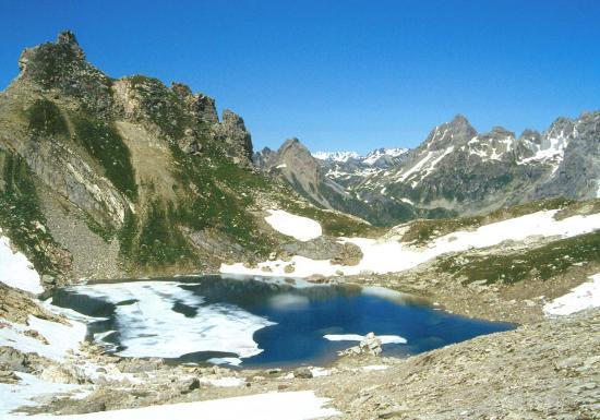Col de la Ponsonnière : le lac Blanc